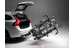 Elite Dolomiti Ramp - Porte-vélo de coffre - 3 Fahrräder 60 kg noir